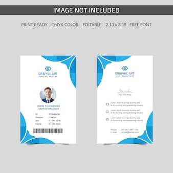 Corporate id card