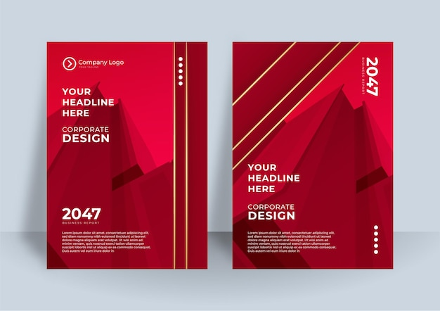 Corporate identity cover business vector design, flyer brochure advertising abstract background, leaflet modern poster magazine layout template, annual report for presentation