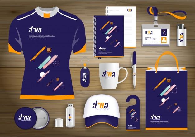 Corporate identity design template