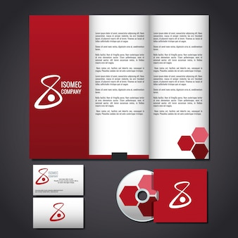 Corporate identity package Vector | Free Download