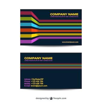 Corporate identity set disegno geometrico