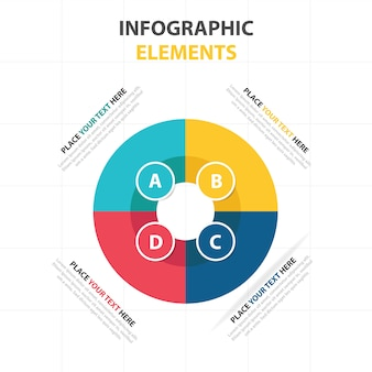 Corporate infographic business template