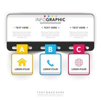 Corporate  infographic template