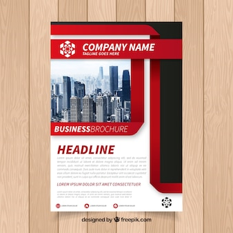 Корпоративная современная брошюра
