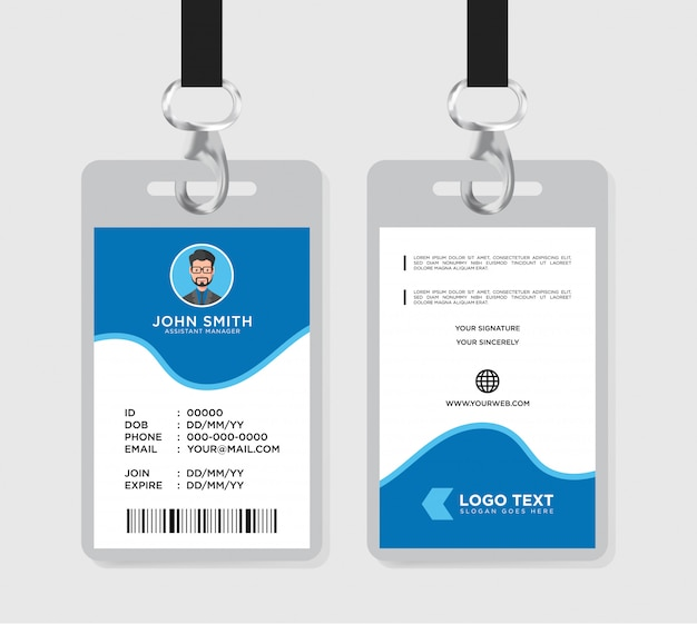Corporate office id card