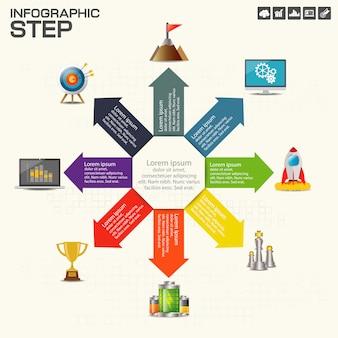 Corporate organization chart.