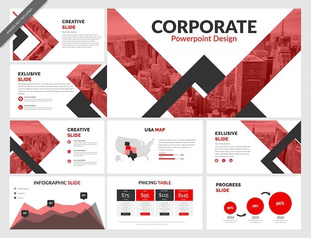 Корпоративный шаблон powerpoint