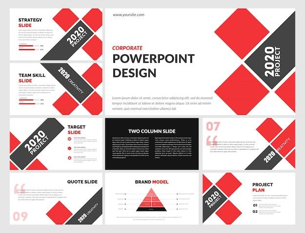 企業のpowerpointテンプレート