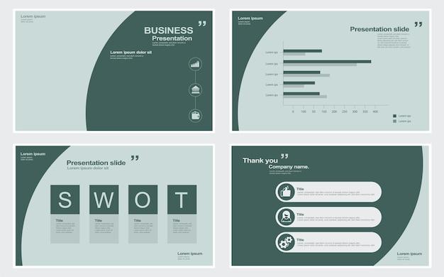 기업 슬라이드 쇼 템플릿 스톡 일러스트레이션 템플릿 슬라이드 쇼 프레젠테이션 소프트웨어