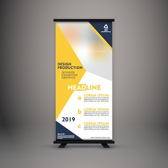 Corporate standee design