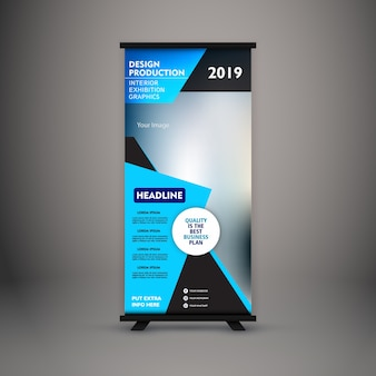Corporate standee design