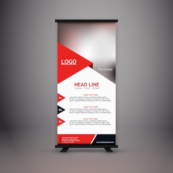 Corporate standee