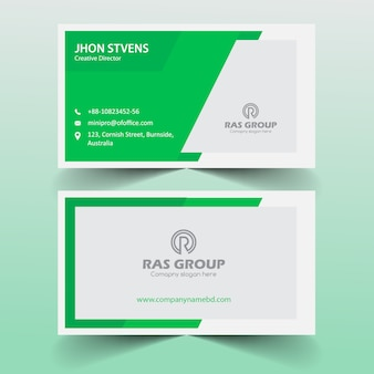 Corporate Visiting Card for Office