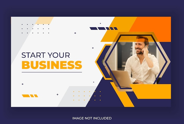 Corporate youtube thumbnail design for youtube channel video