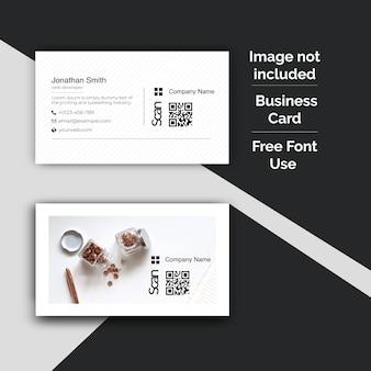 Корпоративный дизайн визитной карточки