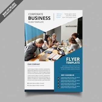 Corporation template brochure