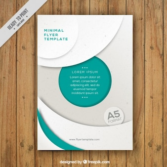 Corporative flyer template