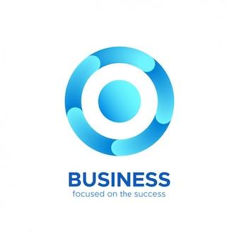 Corporative logo template Free Vector
