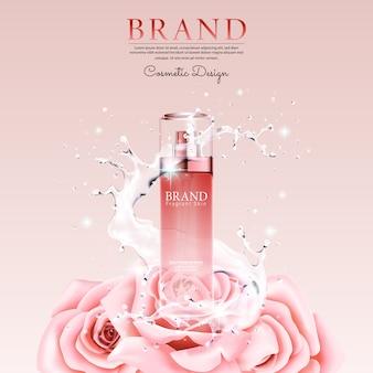 Cosmetic advertising