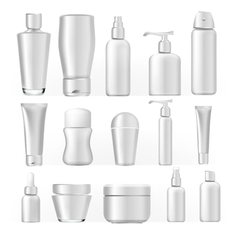 Cosmetic bottles set