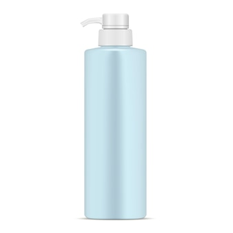 Cosmetic dispenser bottle realistic pump container