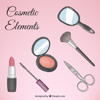 Cosmetic equipment set