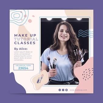 Cosmetic flyer vertical
