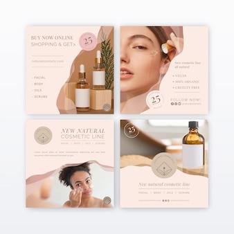 Raccolta di post di instagram cosmetici
