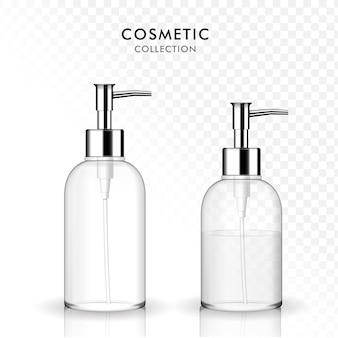 Бутылка косметического жидкого мыла