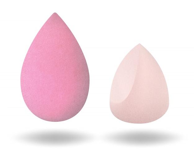 Cosmetic makeup sponge. cosmetic makeup puff