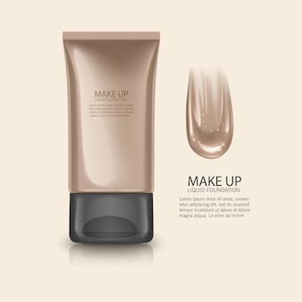 Cosmetic product illustration