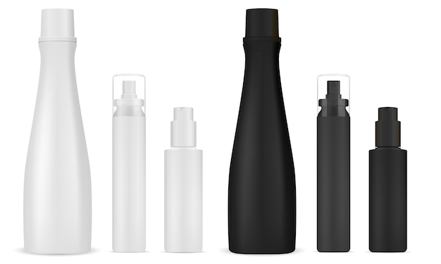 Cosmetic shampoo, sprayer. dispenser pump bottle