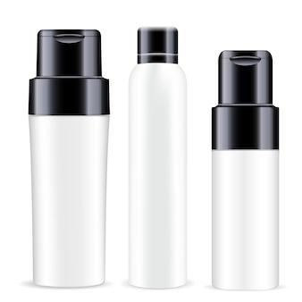 化粧品スプレーホワイトブランクデオドラントボトル