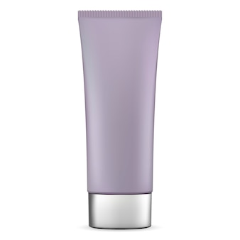Cosmetic tube for cream. vector ointment container