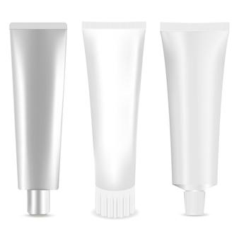 Cosmetic tube set
