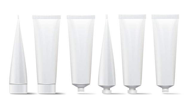 Cosmetic tube set
