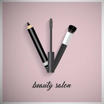 化粧品の背景デザイン
