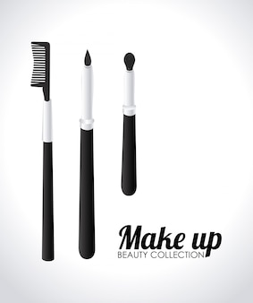 Cosmetics design illustration