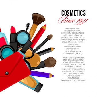 Cosmetics and fashionobjects
