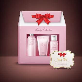 Cosmetics gift box