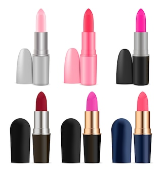 Cosmetics lipstick set