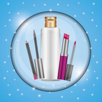 化粧品を構成する