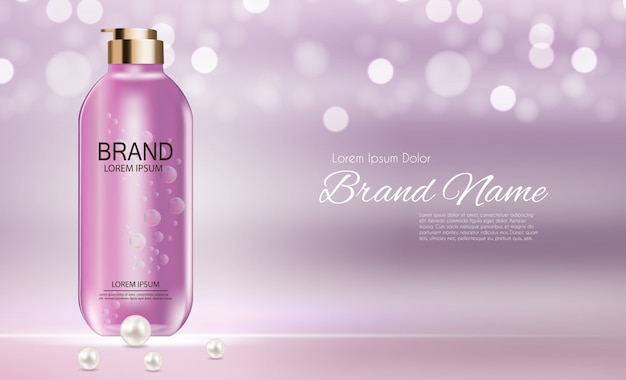 Cosmetics product template