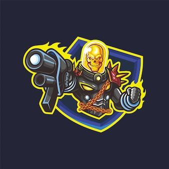 총을 든 우주 유령 라이더