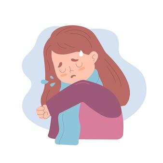 Persona che tossisce