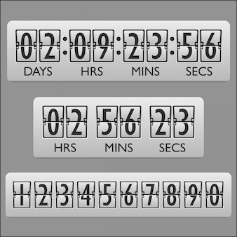 Countdown clock timer