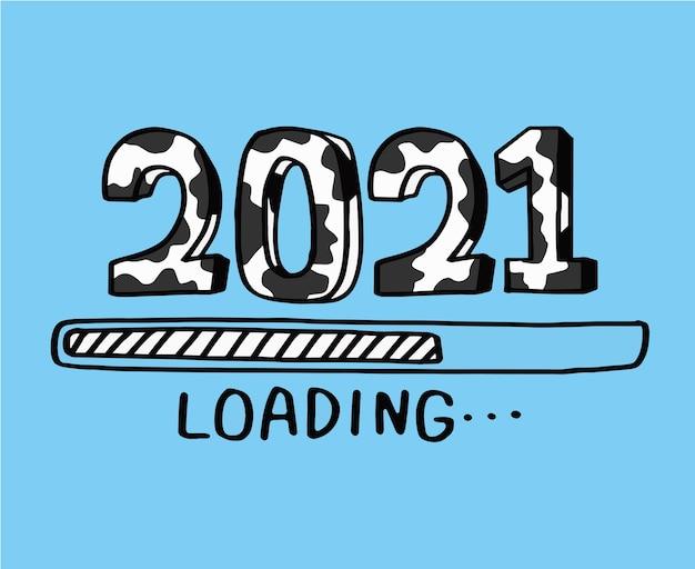 Обратный отсчет до нового 2021 года, 2021 года быка