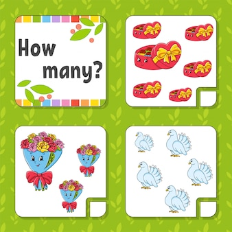 Counting game for children