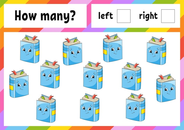 Counting game for children.