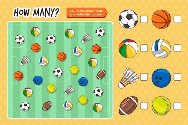 Счетная игра для детей
